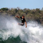 Live To Surf floater in Mexico with Angus Tokarek