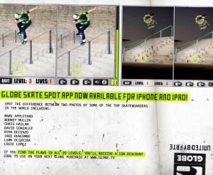 Globe Skate Spot App