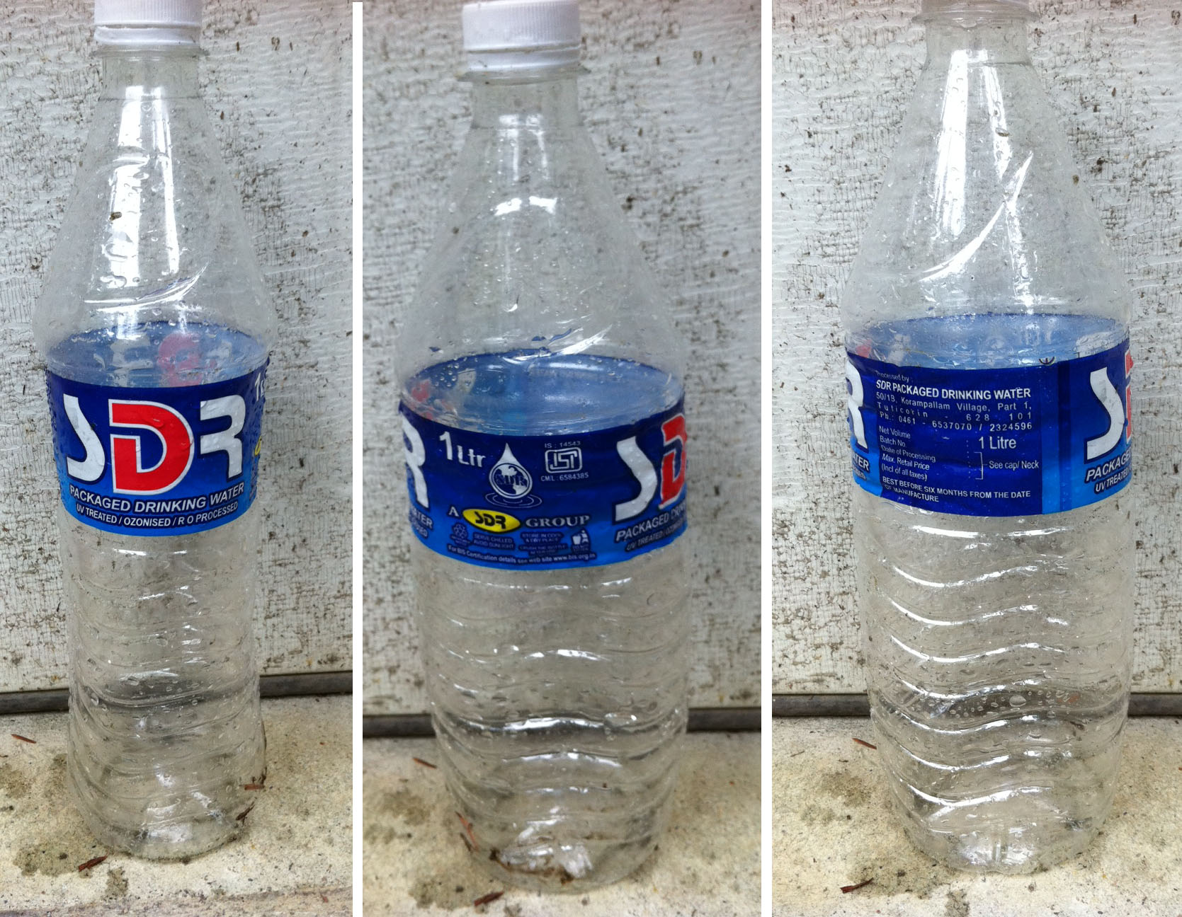 how to kill mold in water bottle